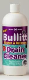 Bullitt Kitchen & Bathroom Drain Cleaner