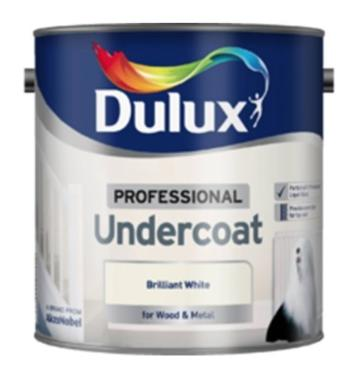 Dulux Professional Undercoat White 750ml